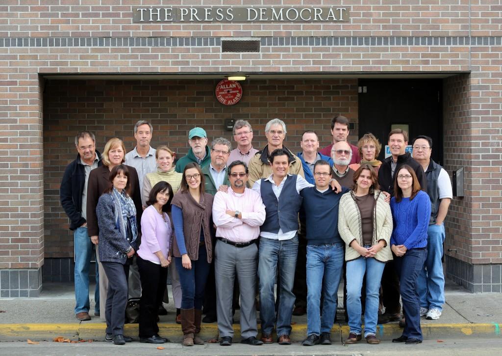 Press Democrat workers 2012