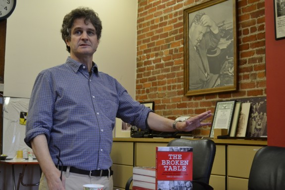 Broken Table author says bargaining is wrecked