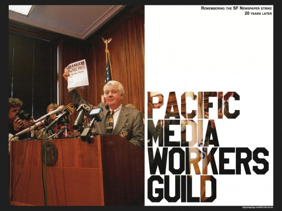 20th anniversary of the SF newspaper strike