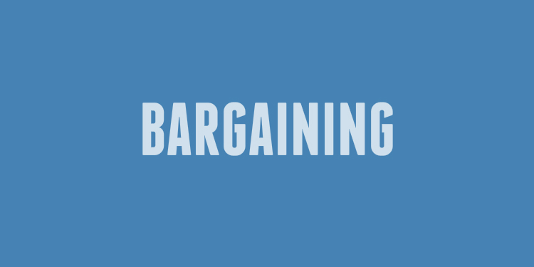 Bargaining frustration continues