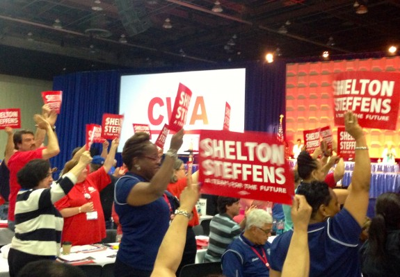 Our Local's Sara Steffens elected Sec-Treas of CWA