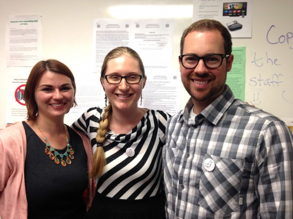 ESL teachers unionize!