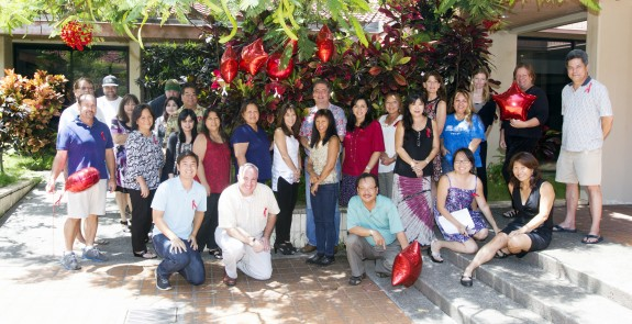 Maui News members and colleagues show unity