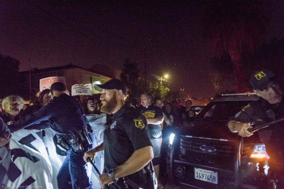 Berkeley police rough up credentialed freelancer