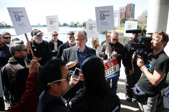 Guild Pulitzer winners denounce DFM's destruction of newsrooms