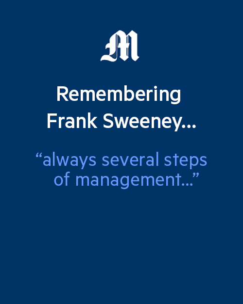 Longtime Mercury News reporter Frank Sweeney dies at 78
